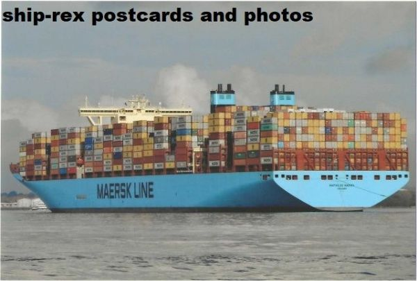 MATHILDE MAERSK (container ship) photo (a)